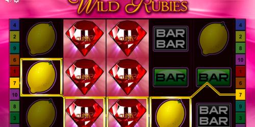 Wild Rubies Spielautomat von Bally Wulff