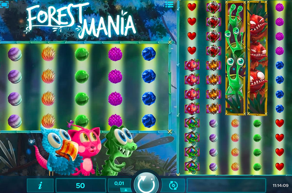 Forest Mania von iSoftBet