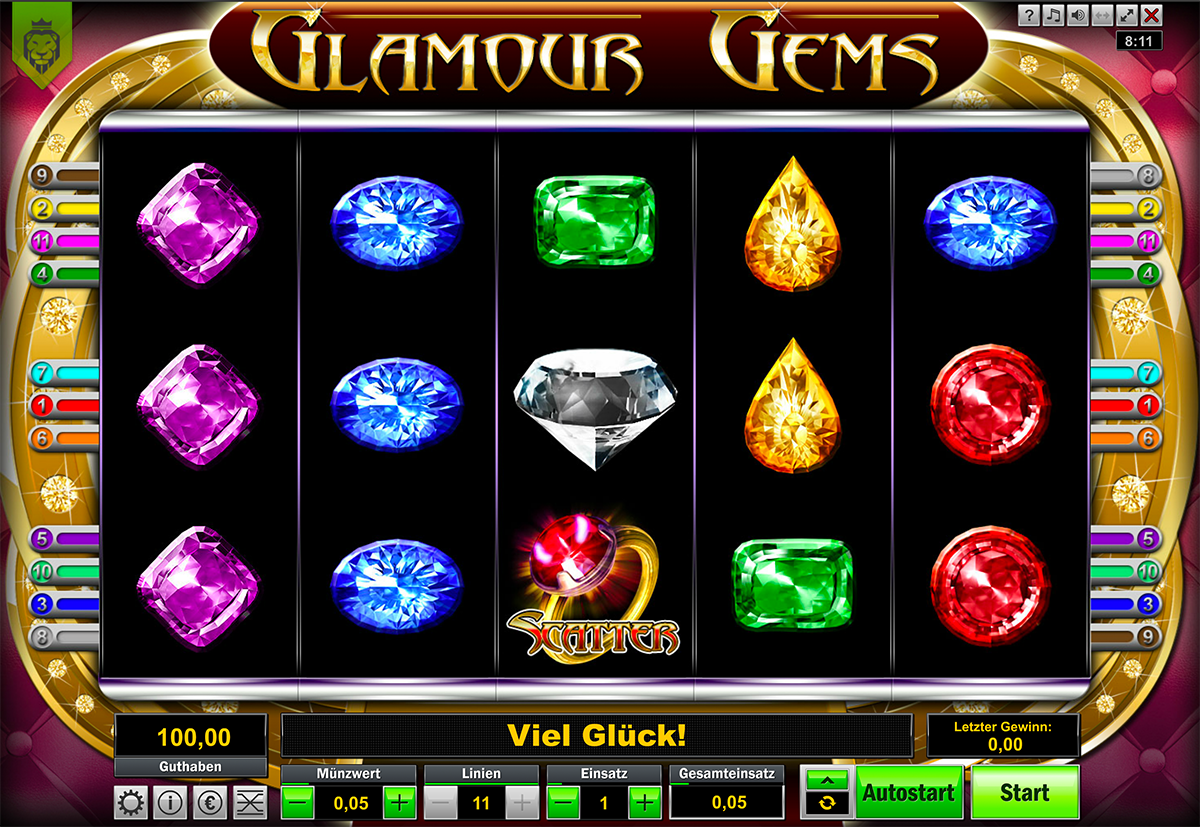 Glamour Gems von Lionline (Löwen Play)